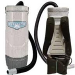 Sandia Hepa Raven Backpack Vacuum- 10 Quart w/ Tool Kit