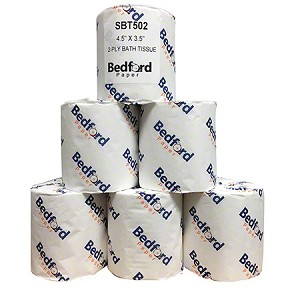 Bedford - 2-Ply Toilet Tissue Case (96 Rolls / Case)-LOCAL DELIVERY ONLY (w/in20 Miles of Twin Cities)
